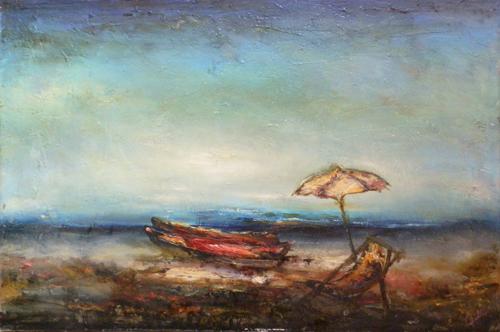 Art work by Giampietro Cipollini Marina - oil canvas