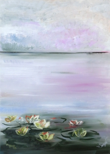 Quadro di Vanessa Katrin Poesia - olio tela