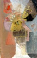 Quadro di Mario Francesconi - Fiori di inverno olio legno