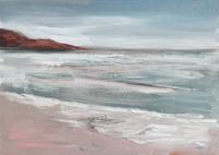 Quadro di Vanessa Katrin - Mare d'inverno olio tela