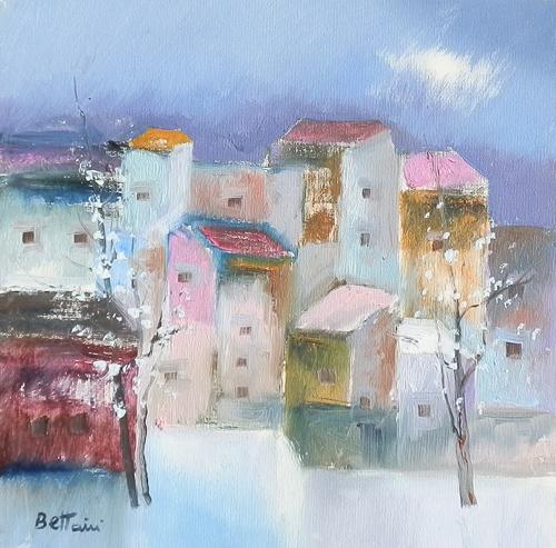 Quadro di Lido Bettarini Primavera - olio tela