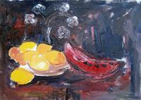 Quadro di Vanessa Katrin - Limoni olio tela