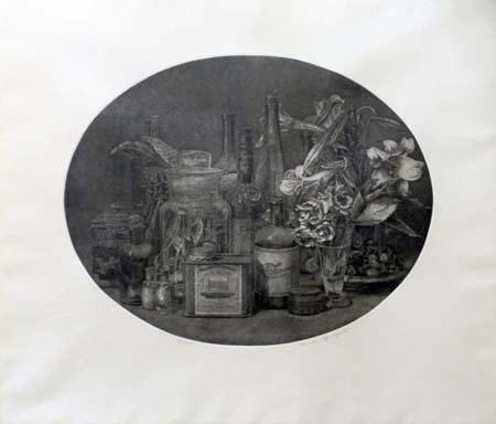 Quadro di Vairo Mongatti Composizione - litografia carta