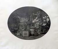 Quadro di Vairo Mongatti - Composizione litografia carta