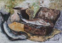 Quadro di Sauro Tasselli - Natura Morta olio faesite