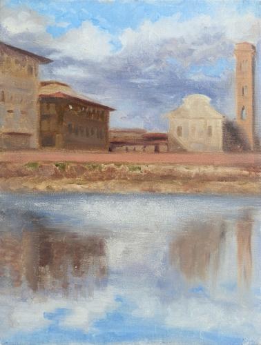 Quadro di  Anonimo Chiesa di Ognissanti - Pittori contemporanei galleria Firenze Art