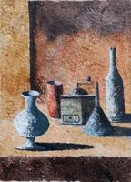 Quadro di Sauro Tasselli - Composizione olio tela