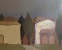 Quadro di Alviero Tatini - Agglomerato Toscano olio tavola