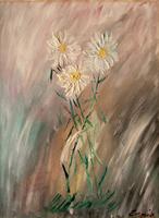 Quadro di Ennio Lovatti - Fiori olio cartone telato