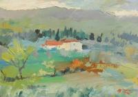 Quadro di Gino Tili  Paesaggio