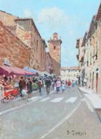 Work of Graziano Marsili  Giorno di mercato