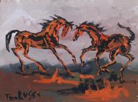 Quadro di Teo Russo  Cavalli
