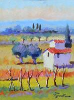 Work of Luigi Pignataro  Paesaggio toscano