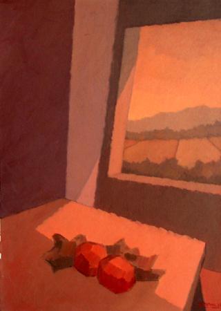 Quadro di Alviero Tatini Natura Morta - olio tela