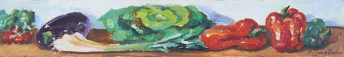 Quadro di Luigi Pignataro Natura Morta - olio cartone