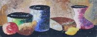 Quadro di Sauro Tasselli - Natura Morta olio cartone