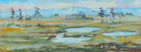 Quadro di Luigi Pignataro - Paesaggio olio tavola