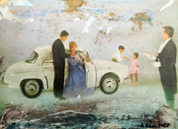 Quadro di Andrea Tirinnanzi - Belle Epoque digital art carta su tavola