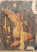 Quadro di Andrea Tirinnanzi - Marilyn digital art carta su tavola