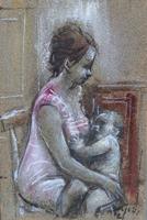 Ermanno Toschi  - Maternità