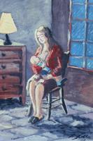 Quadro di F. Rolli  Maternità