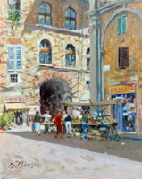 Work of Graziano Marsili  Piazza San Pierino