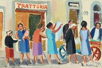 Work of Rodolfo Marma  Angolo di mercato