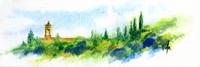 Work of Roberto Lopez Fuentevilla - Paesaggio watercolor paper