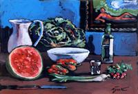 Quadro di Luigi Pignataro - Composizione olio faesite