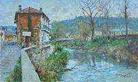 Work of Graziano Marsili  L'Ema alle cascine del Riccio