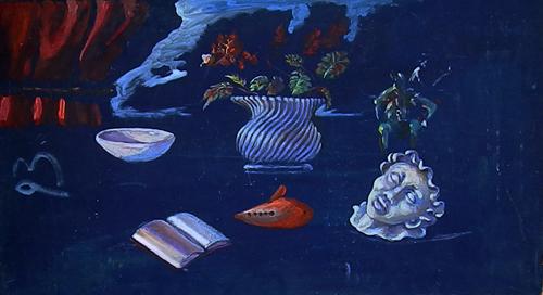 Artwork by Luigi Pignataro, oil on hardboard | Italian Painters FirenzeArt gallery italian painters