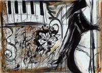 Quadro di Vanessa Katrin - Musica 1 mista tela
