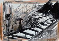 Quadro di Vanessa Katrin - Musica 2 mista tela