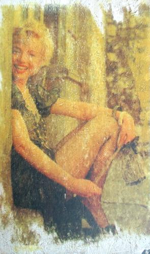 Quadro di Andrea Tirinnanzi Marilyn Monroe - ink jet tavola