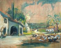 Quadro di Michele Ortino  Paesaggio