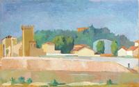Quadro di Rodolfo Marma  Monte Oliveto - Firenze