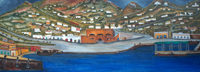 Quadro di Emilio Malenotti - Capri olio tavola