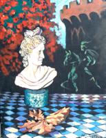Quadro di Luigi Pignataro - Composizione olio tavola