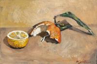 Quadro di Luigi Pignataro - Natura Morta olio tavola