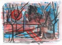 Quadro di Alvaro Baragli  Paesaggio