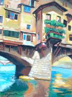 Work of Luigi Pignataro  Ponte vecchio