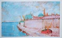 Quadro di Gianfranco Bosi - Marina mista tela