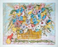Quadro di Gianfranco Bosi  Vaso di fiori