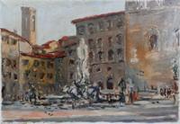 Pompeo Trinzi - Piazza Signoria,Firenze