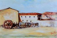 Work of Norberto Martini  Pascolo con case
