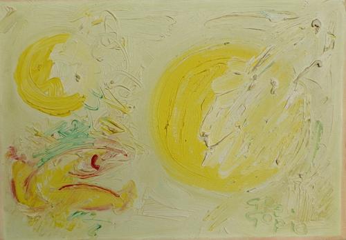 Art work by  GreGorio La Luna - oil canvas