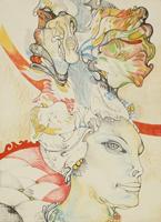 Quadro di Giuliano Pini - Composizione mista carta