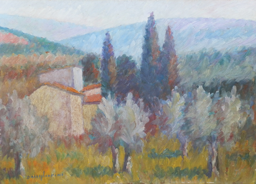 Artwork by Dino Migliorini, oil on hardboard | Italian Painters FirenzeArt gallery italian painters