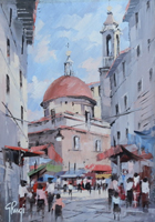 Giannetto Rugi - Mercato di S.Lorenzo,Firenze
