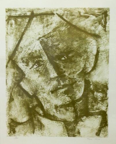 Art work by  Pirzio Ritratto di uomo - lithography paper